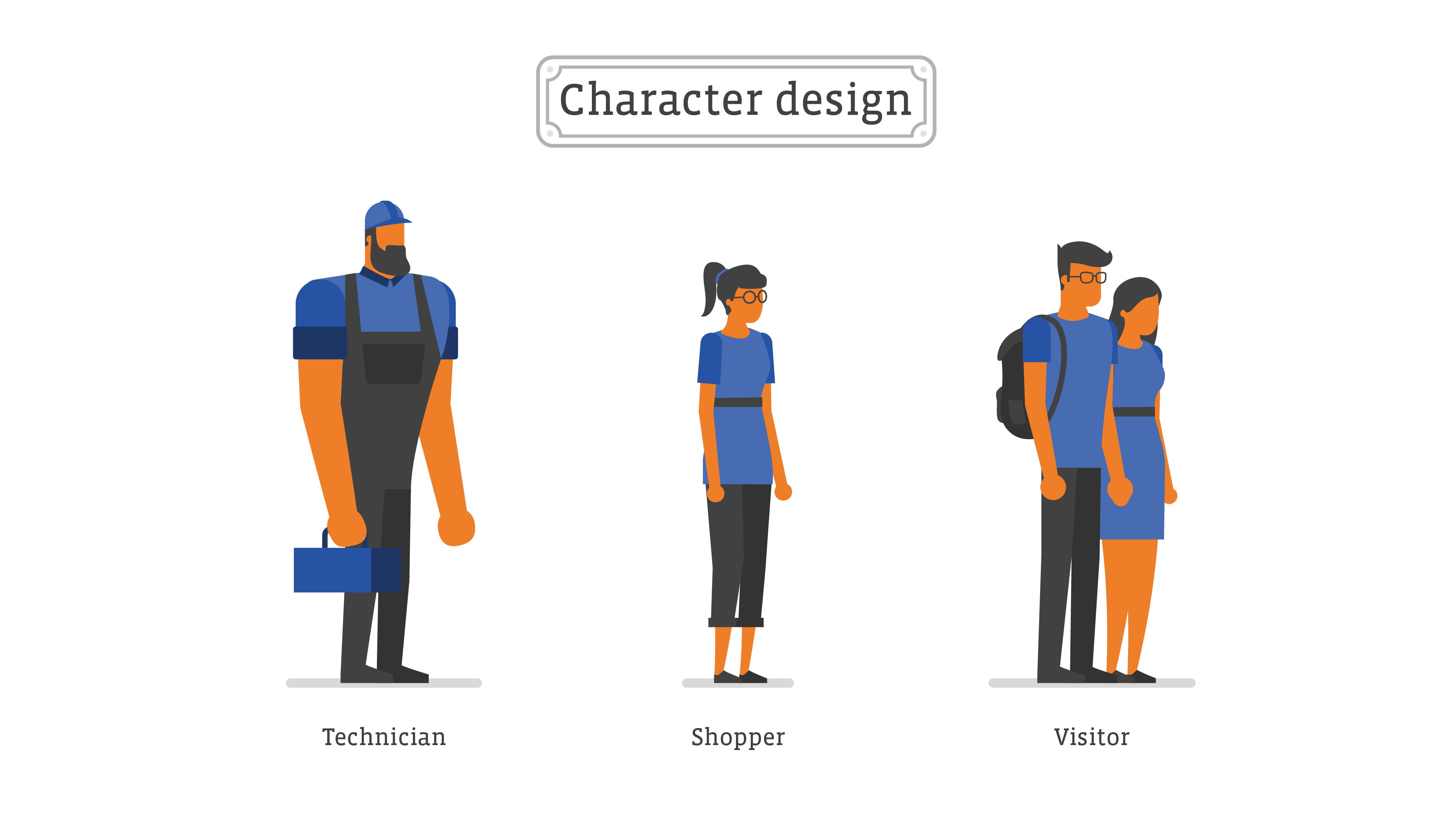 Movin Animation - Character design
